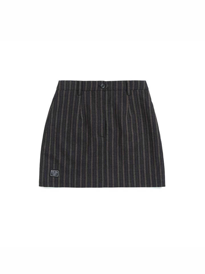 ZOOTIES WOOL SKIRT_dark brown