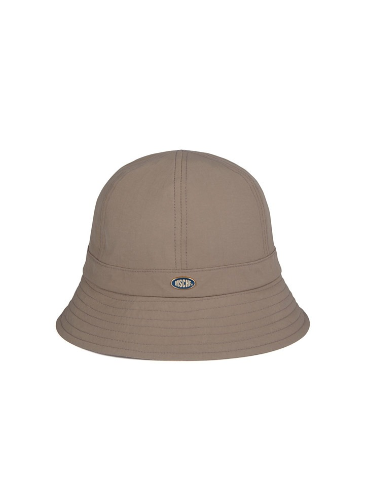 NYLON BUCKET HAT_beige