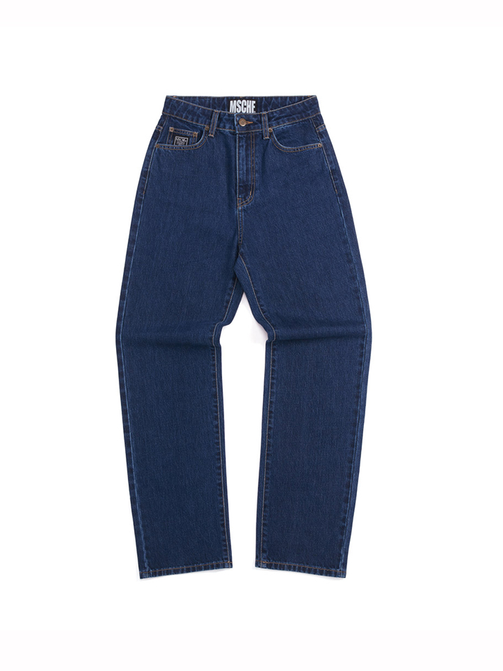 HIGH WAISTED DENIM_blue