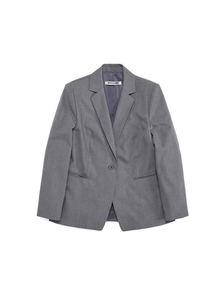 MOD SUIT JACKET_gray stripe