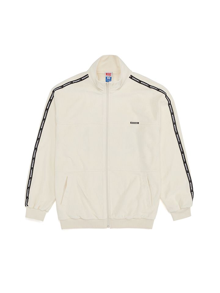 TERRY JACKET_white