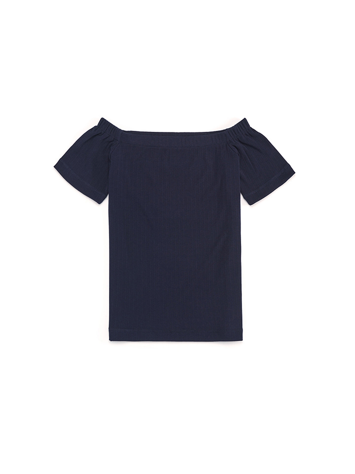 OFF SHOULDER_navy