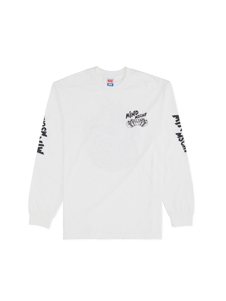 OHAMKING X MSCHF_MIND MSCHF LONG SLEEVE_white