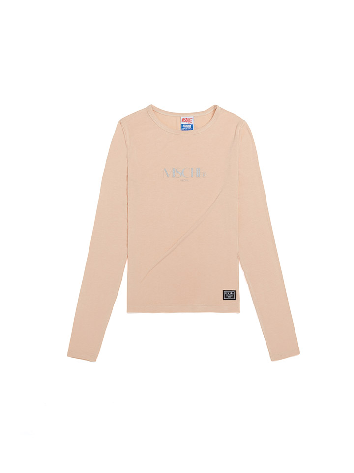 FITTED LONG SLEEVE_beige