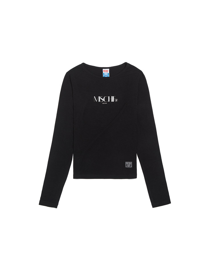 FITTED LONG SLEEVE_black