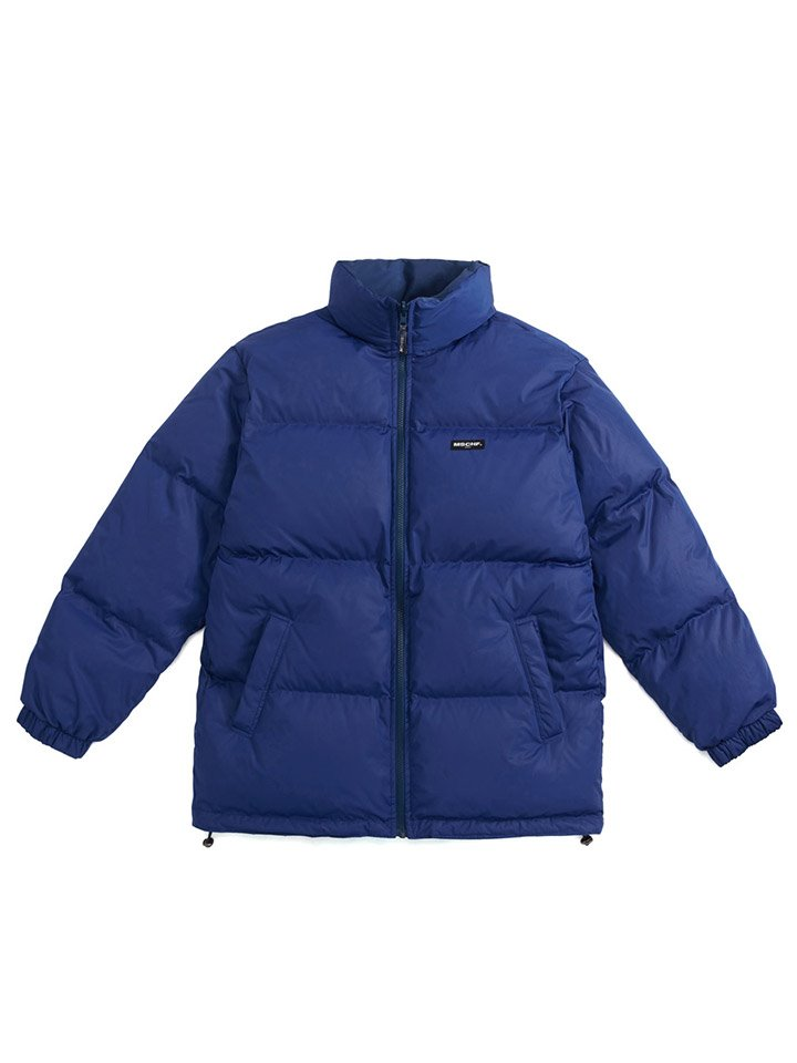 REVERSIBLE SCOTCH DOWN PARKA_navy/blue