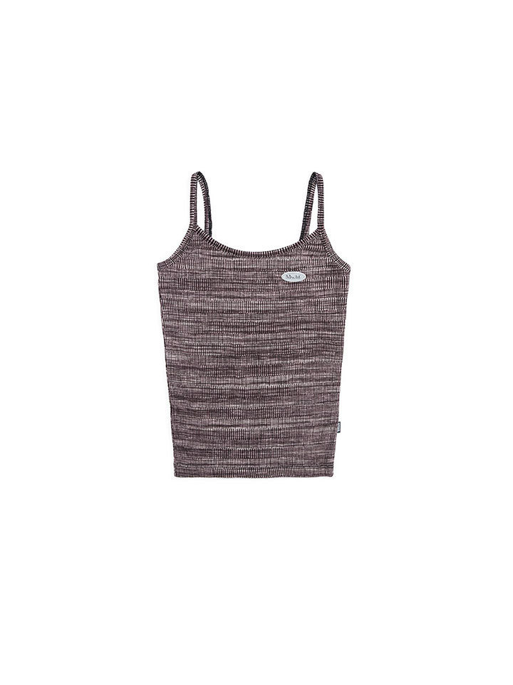 SPACE DYED KNIT TANK_space dyed mauve