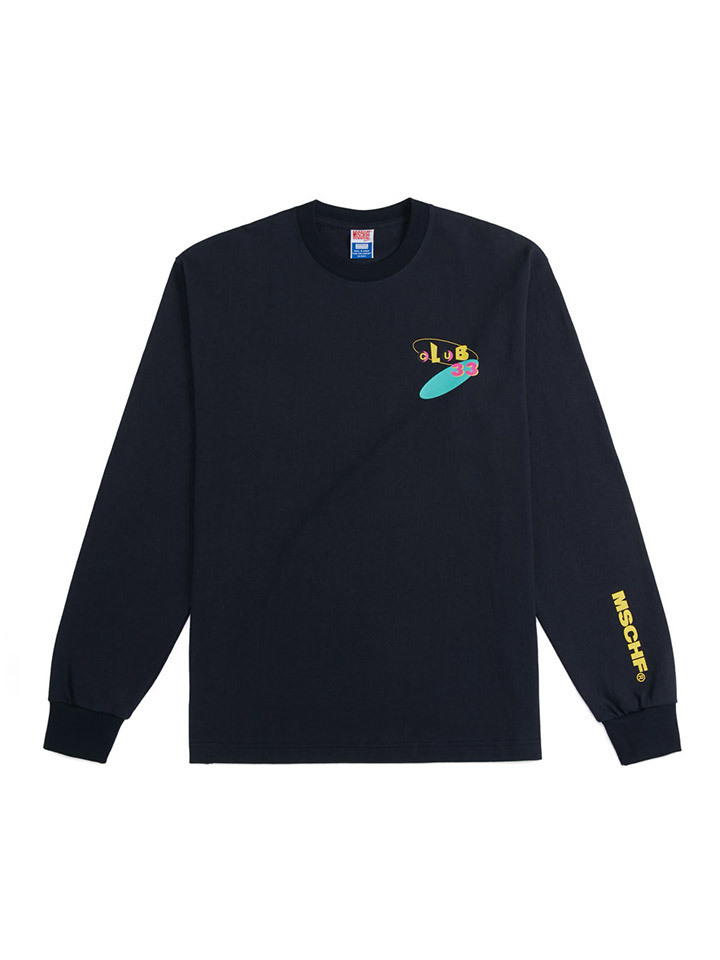 CLUB33 X MSCHF LONG SLEEVE_navy