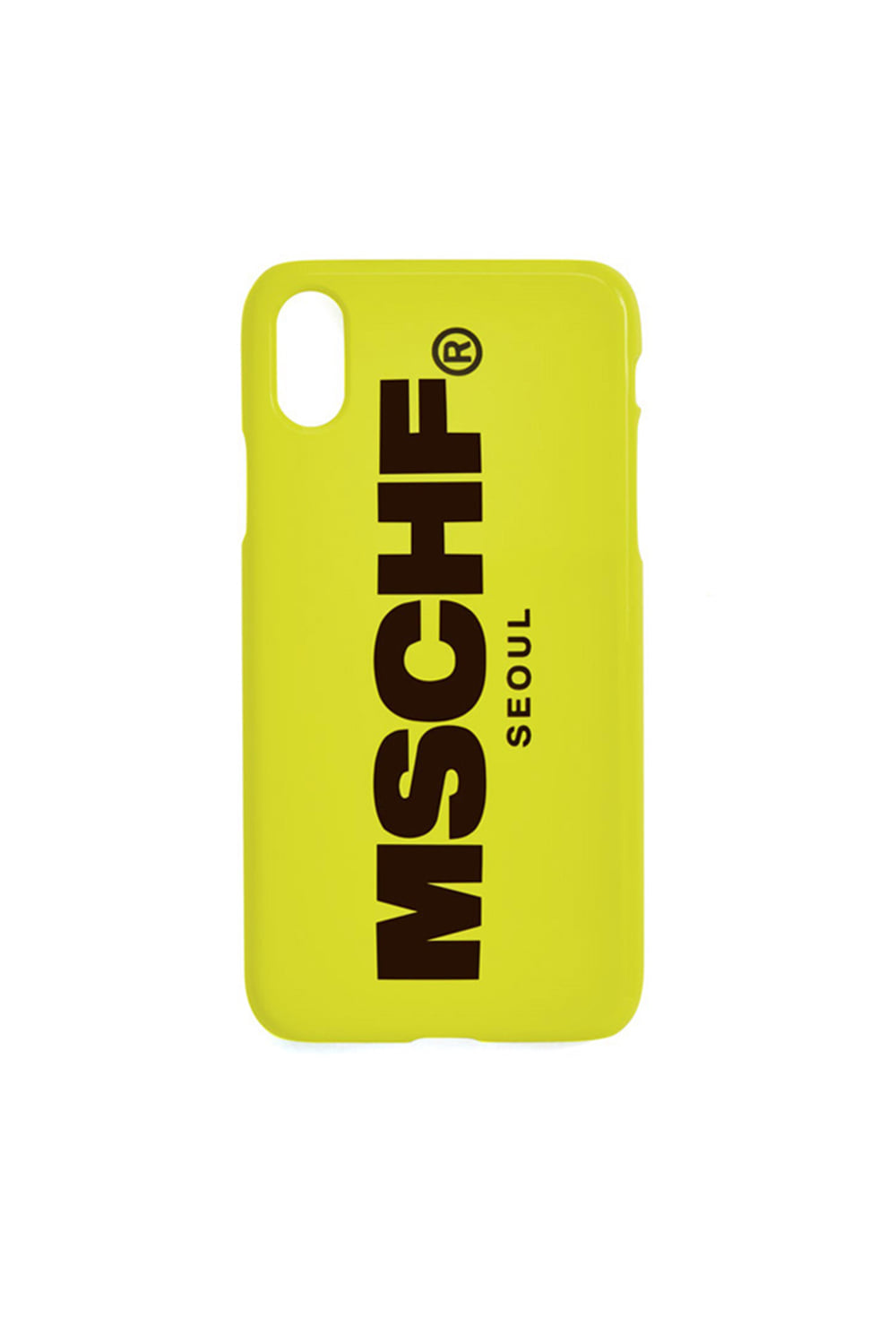 IPHONE CASE_neon yellow/black