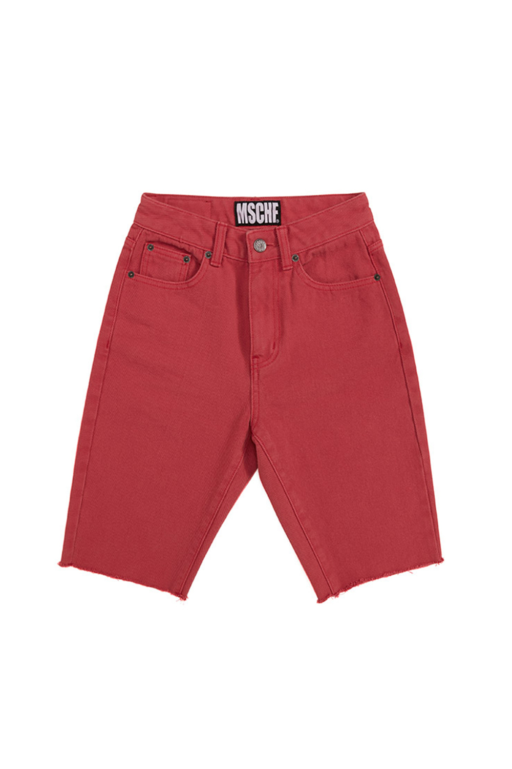 KNEE LENGTH PANTS_red