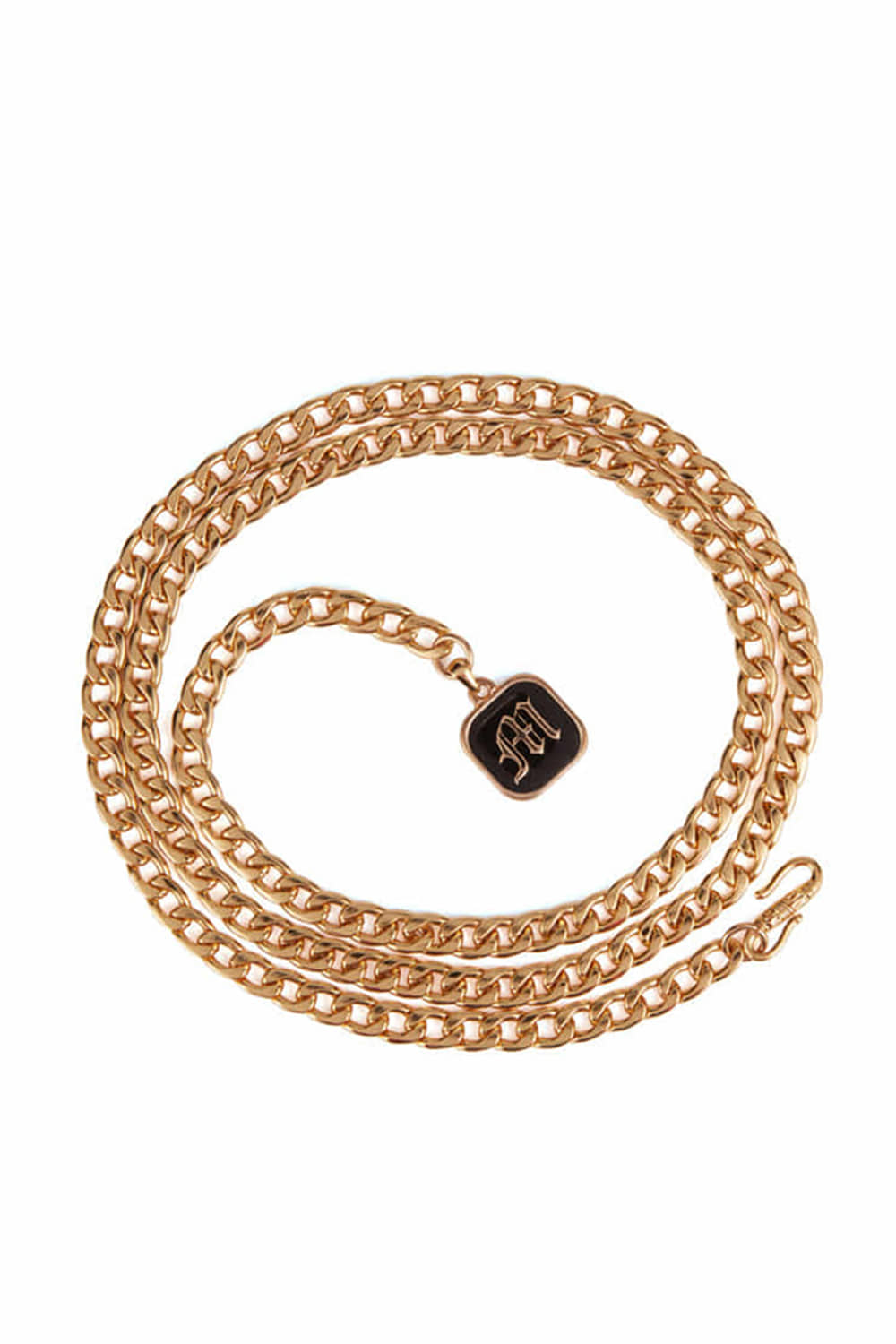 CLASSIC SQUARE FRAME CHAIN_gold