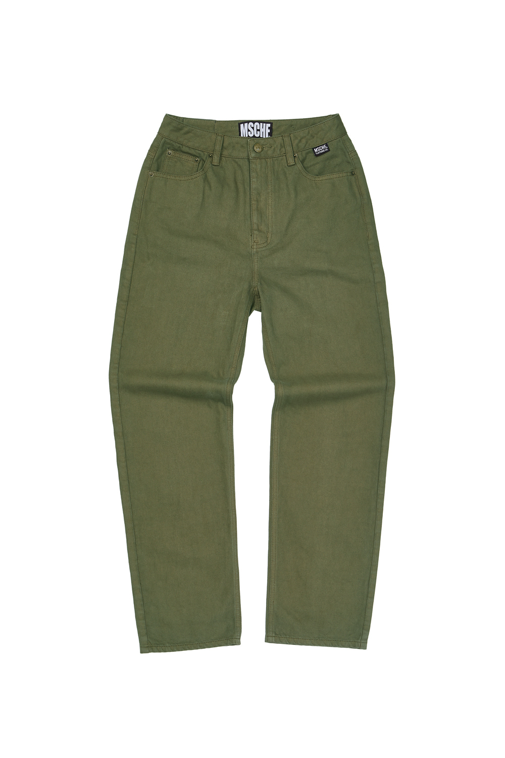 HIGH WAIST PANTS_green