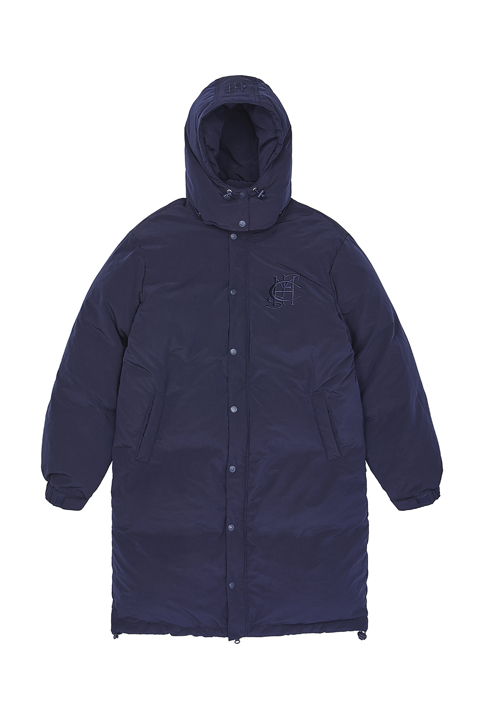 ZIP UP LONG DOWN PARKA_navy