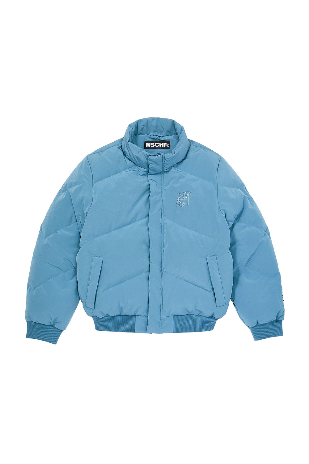 DOWN PUFFER JACKET_light blue