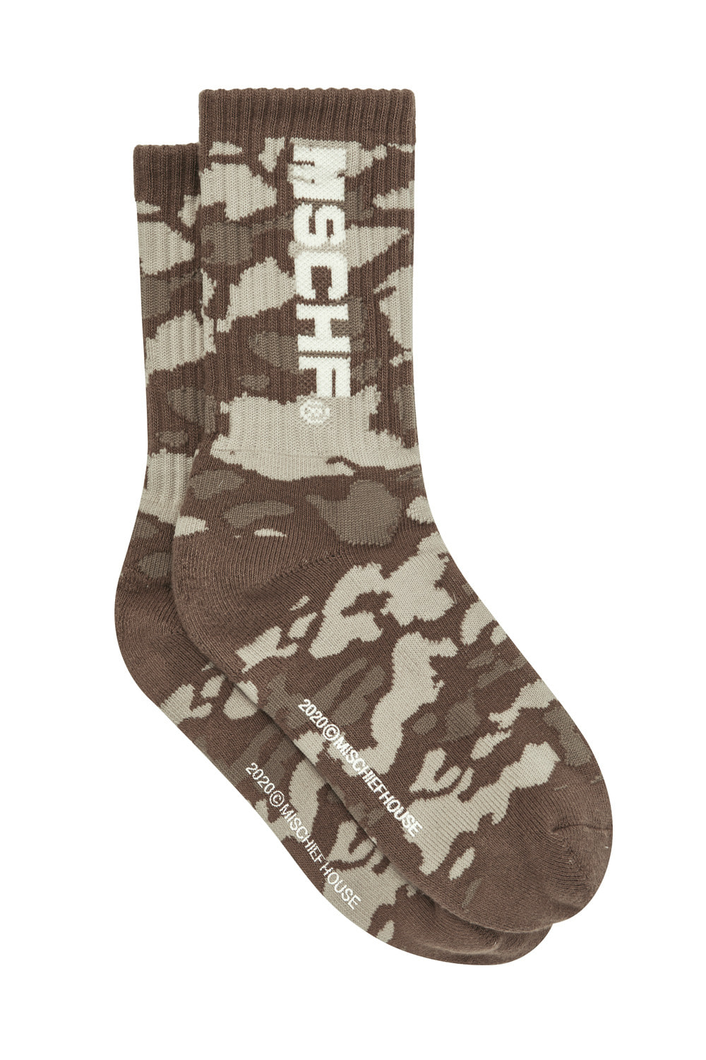 MIDDLE TUBE SOCKS_camo