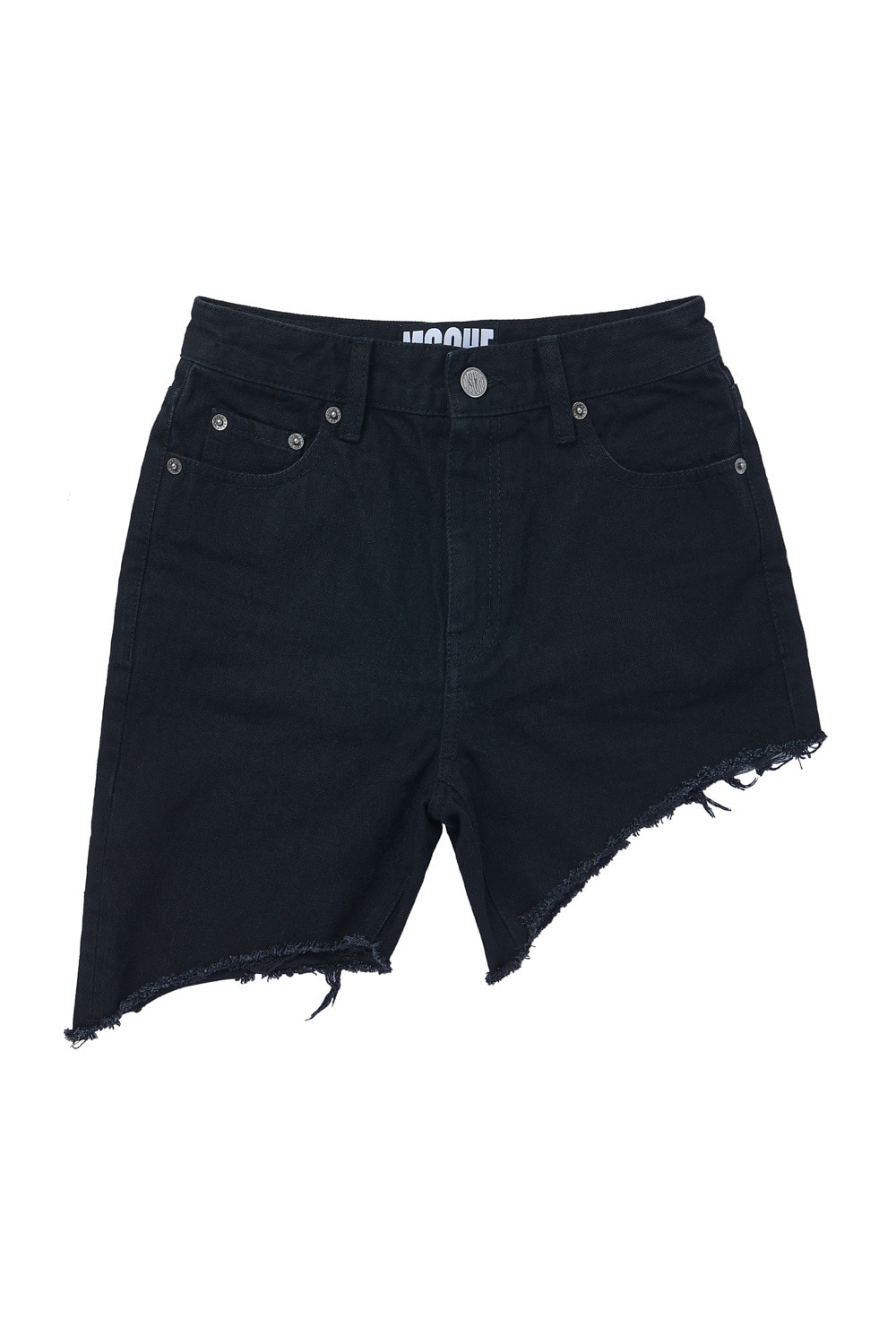 UNBALANCED SHORTS_black