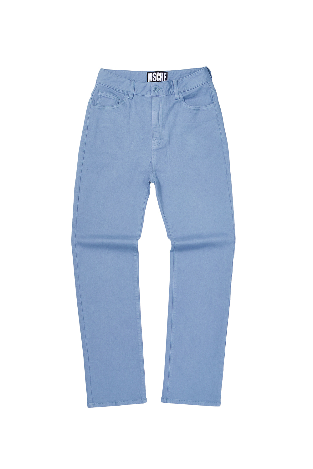 STRAIGHT PANTS_columbia blue