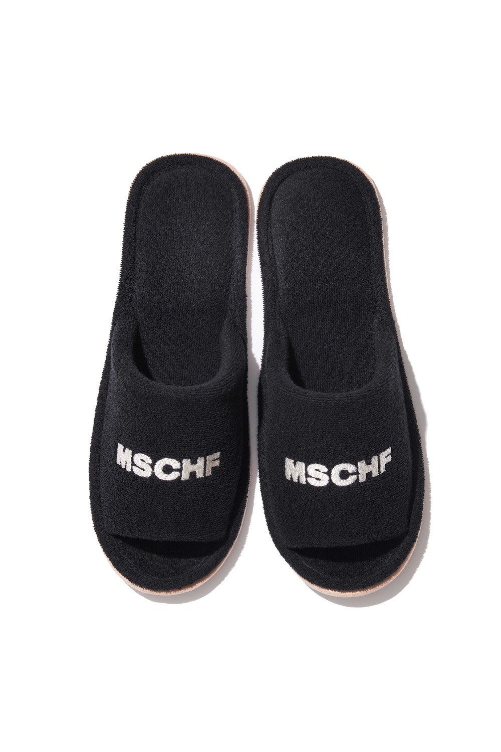 COLLECTIVE OG TOWEL SLIPPERS_black